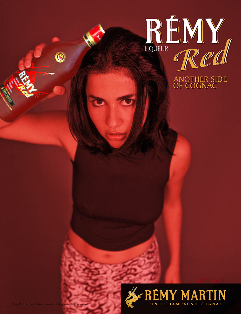 Remy Red Red Campaign Monica
